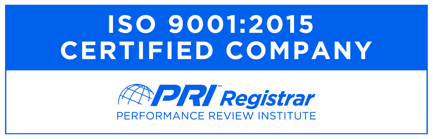 A ISO 9001:2015 Certified Company